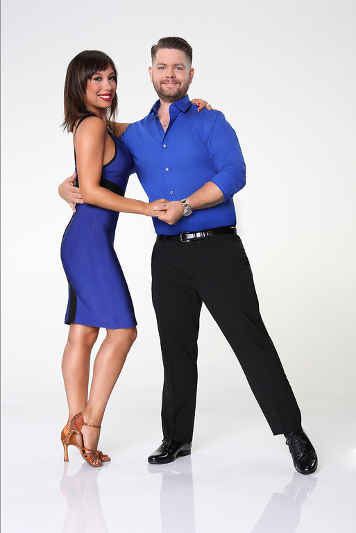 """. DANCING WITH THE STARS - CHERYL BURKE & JACK OSBOURNE - Jack Osbourne partners with Cheryl Burke. \""""Dancing with the Stars\"""" returns for Season 17 on MONDAY, SEPTEMBER 16 (8:00-10:01 p.m., ET), on the ABC Television Network. (ABC/Craig Sjodin)"""