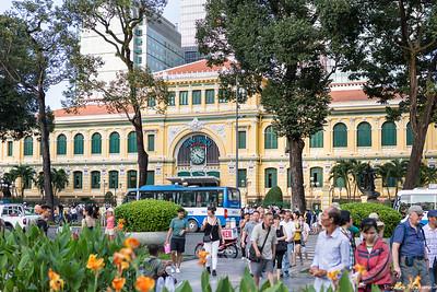 Ho Chi Minh Ville, la poste centrale.