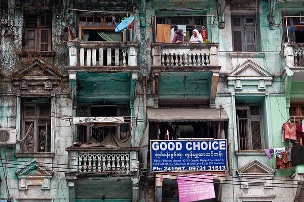 Scènes de vie - Yangon
