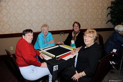 2012 Mah Jongg  Tampa  - Tables