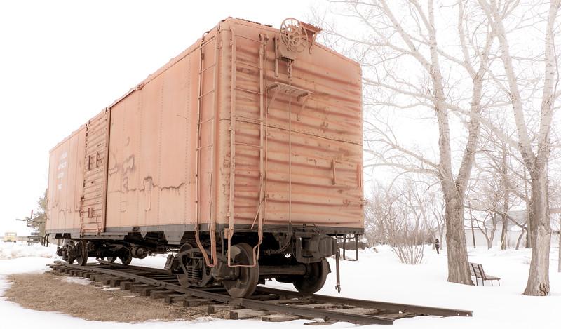 """Yesteryear Artifacts Museum"" Railway Car"