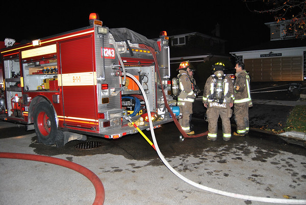 October 31, 2010 - Working Fire - 88 Sonmore Dr.