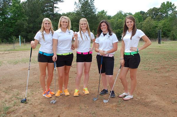 Grapeland girls golf