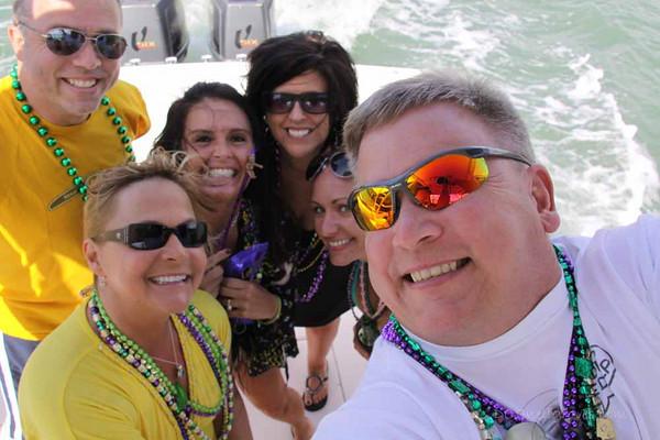 5 March 2011 the Cove Mardi Gras Cruise....