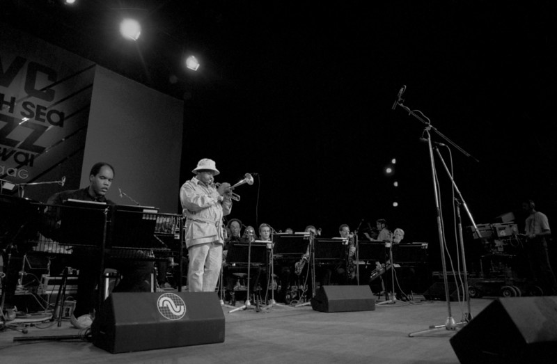 DIZZY GILLESPIE big band with ED CHERRY