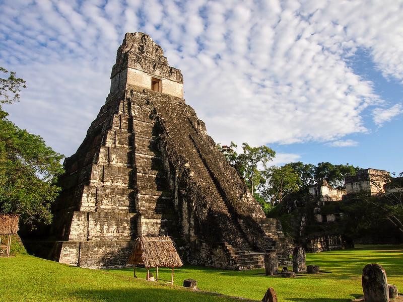 Temple at Tikal in Guatemala