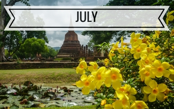 visiting Thailand in July