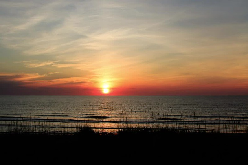 Sunrise over the Atlantic