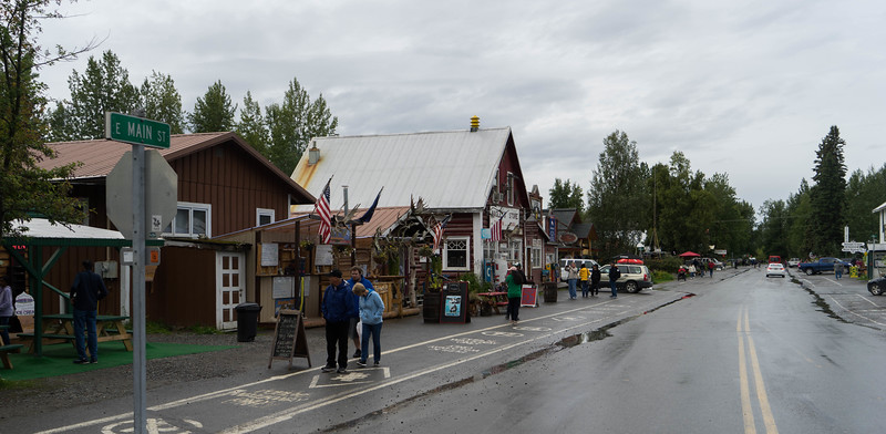 Talkeetna is credited with being the inspiration for the Northern Exposure television show's Cicely, AK