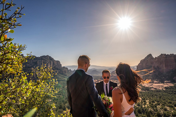 Sedona, Arizona Destination Vow Renewal