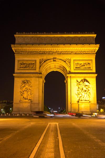 Arc de Triomphe Paris- France - Aug 2013- 041.jpg