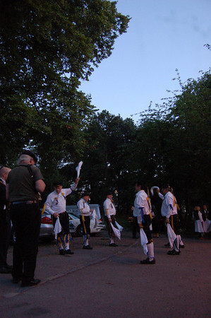 Chislehurst with Ravensbourne Morris. 21st June