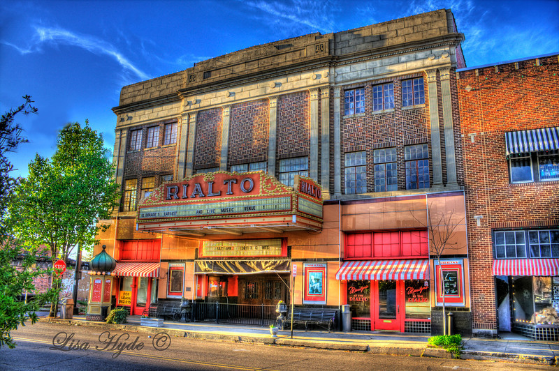 The Rialto movie theater, El Dorado, AR