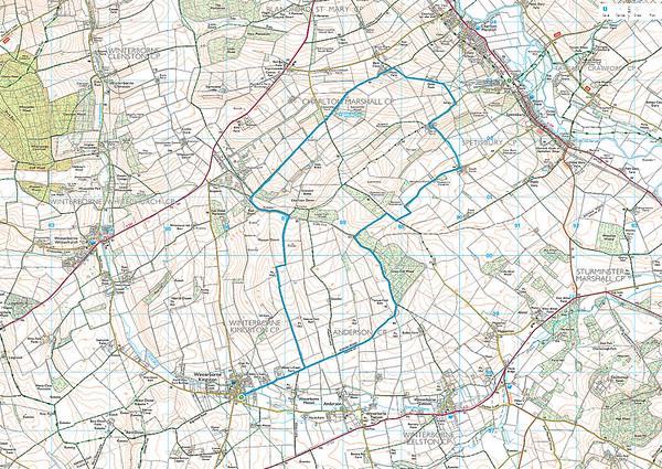 11.5 miles from Winterborne Kingston on 25 November 2015