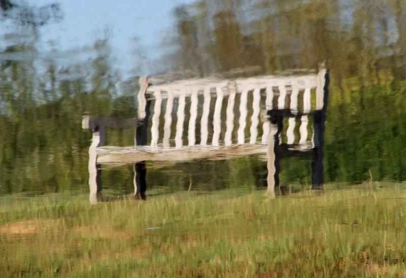 Wavy bench