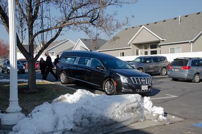 Grandma White's funeral
