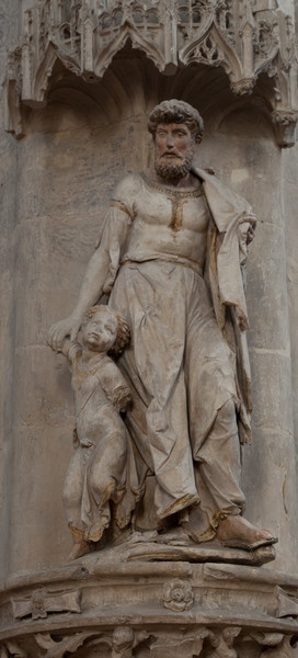 Troyes - Saint-Pantaleion - Man with Boy