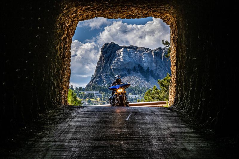 Harley Davidson, Mt. Rushmore