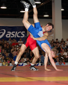 Greco-Roman Championships 55 Kg Sam Hazewinkel (GatorWC and voted Outstanding Wrestler Greco-Roman) def. Lindsey Durlacher
