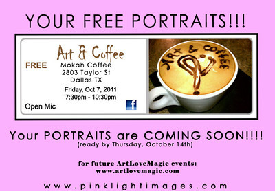 Art & Coffee - October 7th, 2011 -Art.Love.Magic