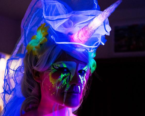 Skin City UV - Ivy unicorn
