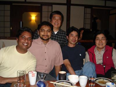 Farewell Dinner for Sato-san