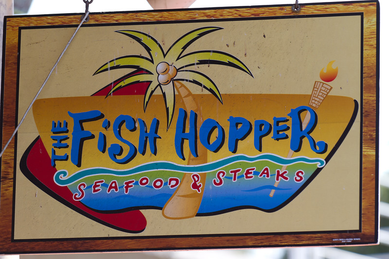 The fish hopper provided many good meals during our trip.