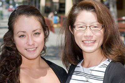 Esther and Lauren