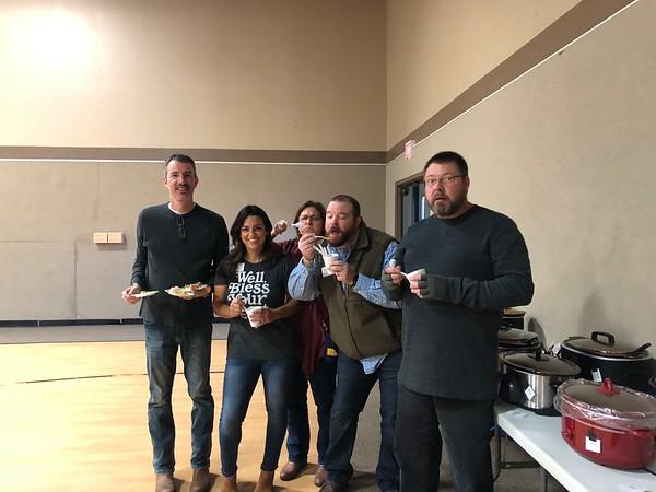 3rd Annual Chili & Pie Contest December 2018