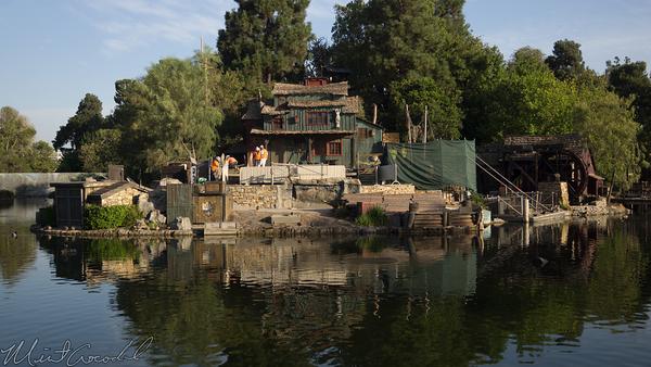 Disneyland Resort, Disneyland. Frontierland, Tom, Sawyer, Island
