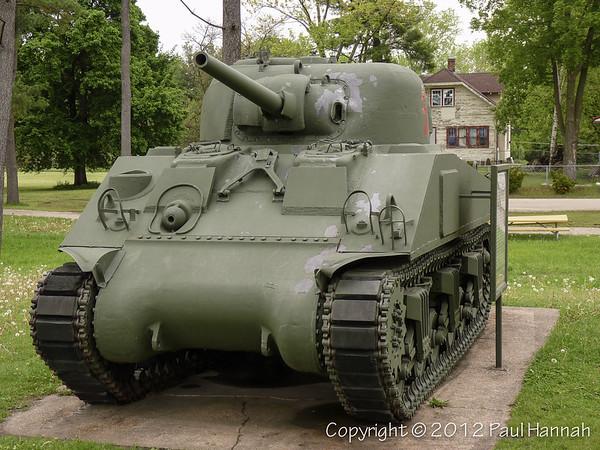 Veterans Park - Tomah, WI - M4A3(75)