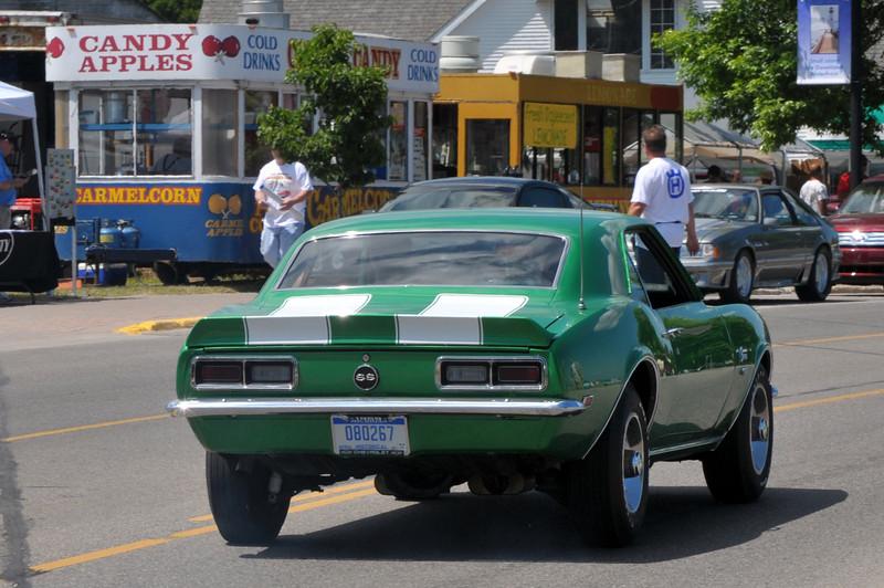 St. Ignace car show.