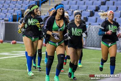 Legends Football League - Seattle Mist vs Las Vegas Sin (06/21/2015)
