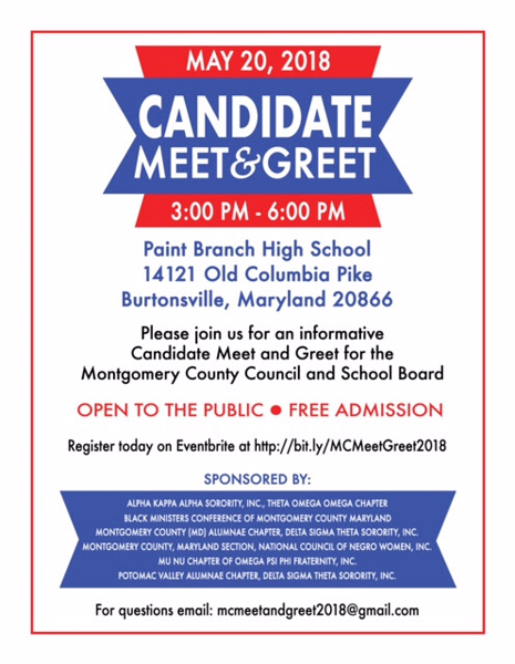2018-05-20 Candidate Meet and Greet