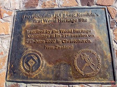 Twyfelfontein world heritage site