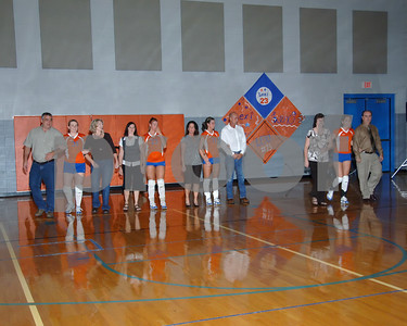 Marshall County Volleyball Senior Night Activities  -  October 7, 2008