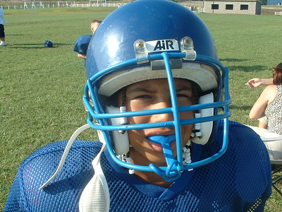 2004_08_25 Football practice