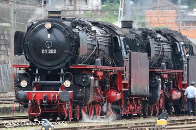 Deutsche Bahn Steam Locomotive