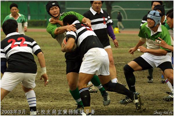 2003年照片集錦(Rugby Pics in 2003)
