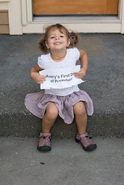Avery's First Day of School