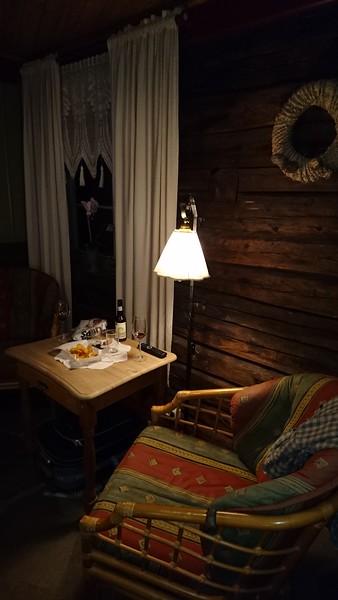 Hotelrommet på Røros