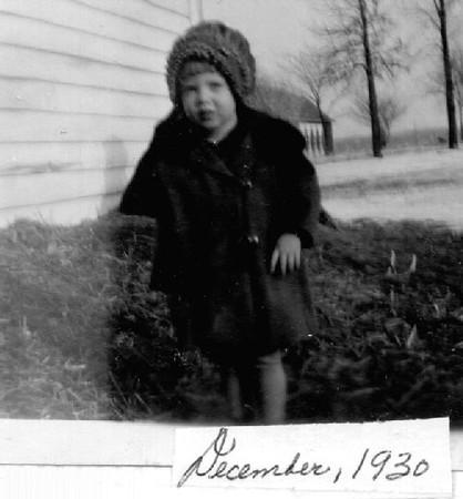 Joyce Herdrich, Age 2