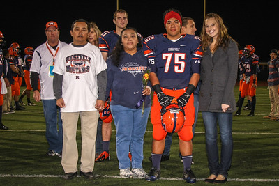 Football Senior Night Photos