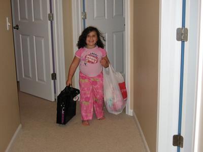 She said she was leaving