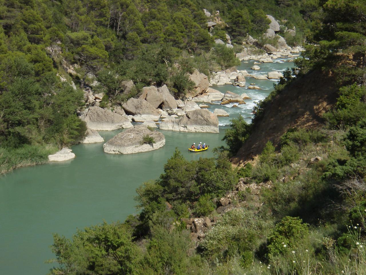 Rio de Gallego near Huesca
