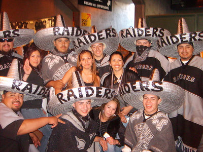 Raiders VS Rams game Dec. 17, 2006