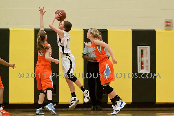Girls Varsity Basketball # 5 - 2011