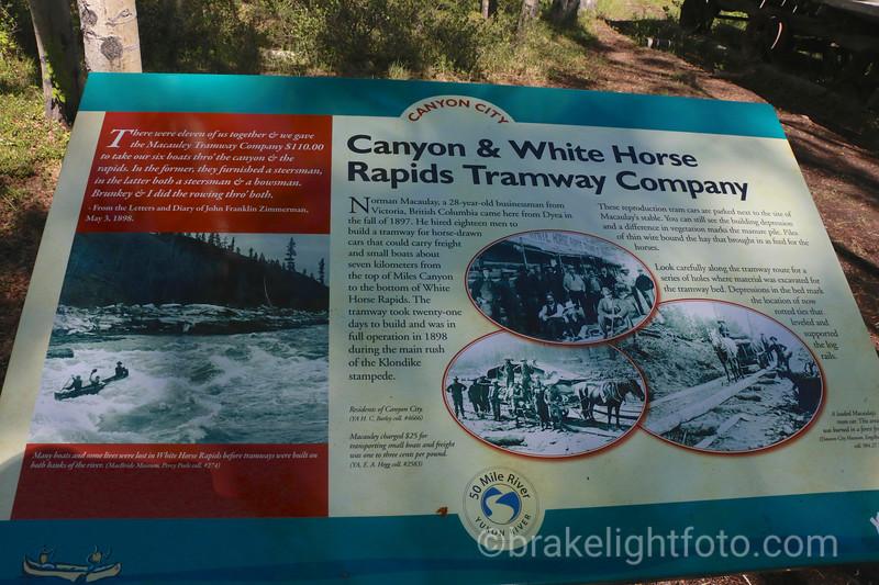 Canyon City Interpretive Sign
