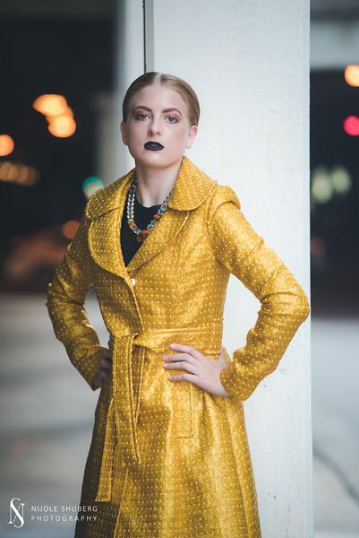 Monique Boutique  - Yellow Coat