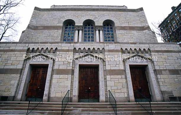 USA, Illinois, Chicago. Temple Sholom. (2007)
